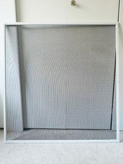 Fibreglass window screen repair kit