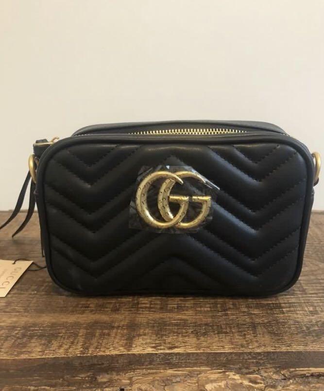 Black Friday Sale: GUCCI Mini Marmont Camera Bag