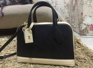 louis vuitton authentic (dora pm bicolore noir)