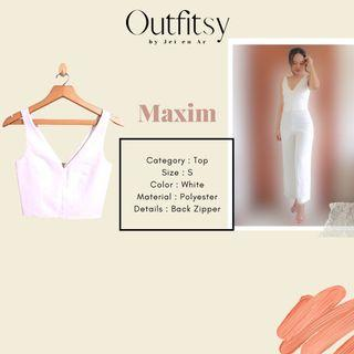 Maxim Cropped Top