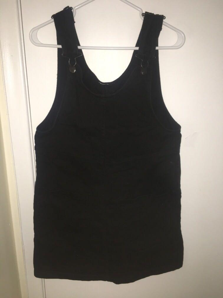 MONKI Overalls black dress S/M