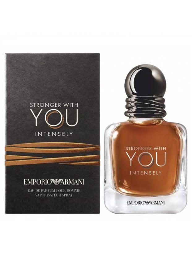 New Armani men's Stronger With You Intensely  100ml