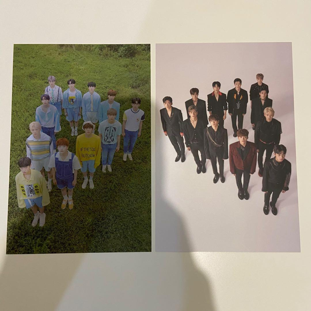 official x1 post card photocard quantum leap bisang 비상 (baca deskripsi)