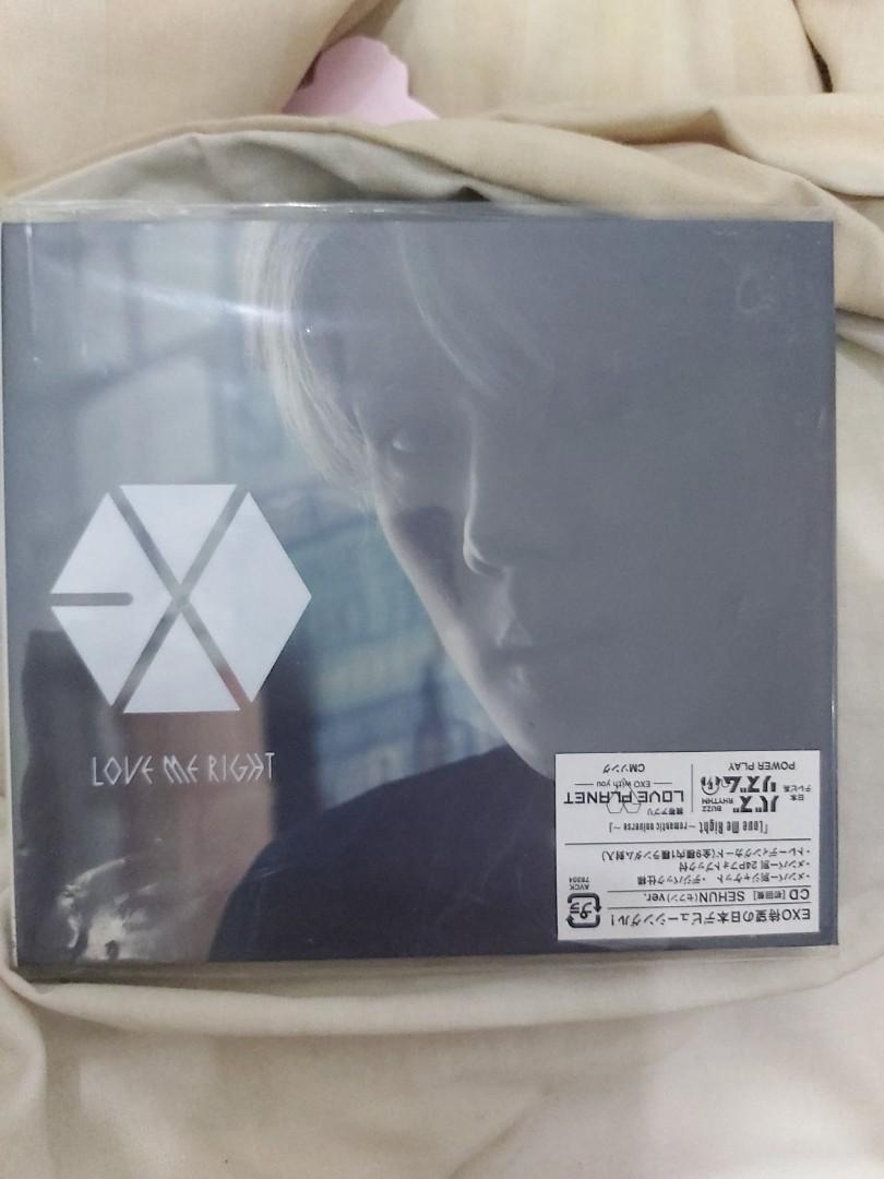 [RARE!]Album Exo Sehun LMR JAPAN (Love Me Right) - Romantic universe