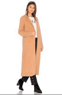 Revolve Camel Coat Size XS