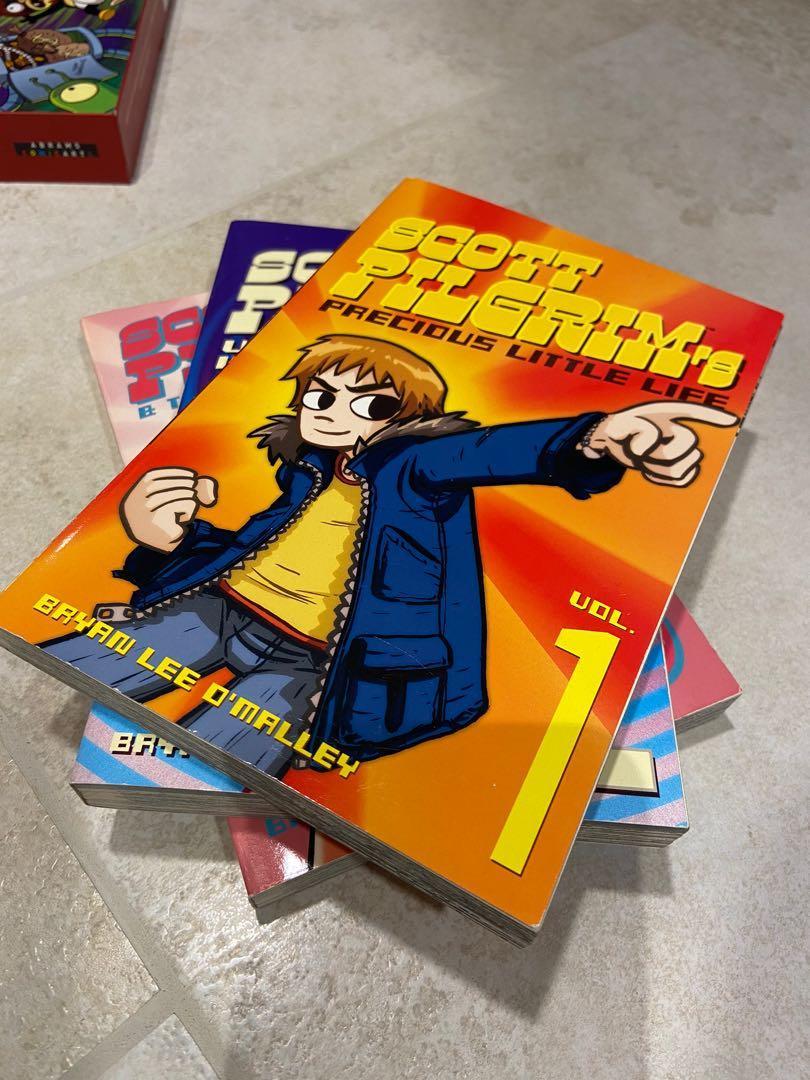 Scott Pilgrim Complete Set (6 books)