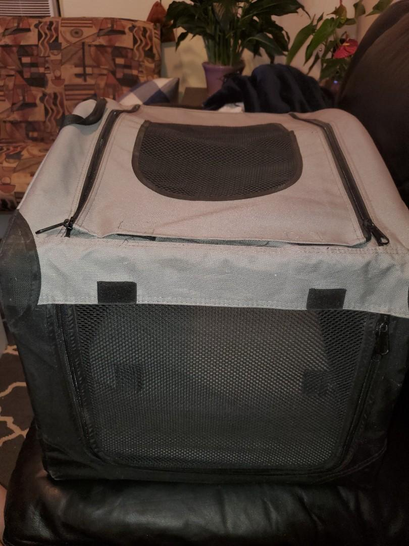 Small soft dog crate