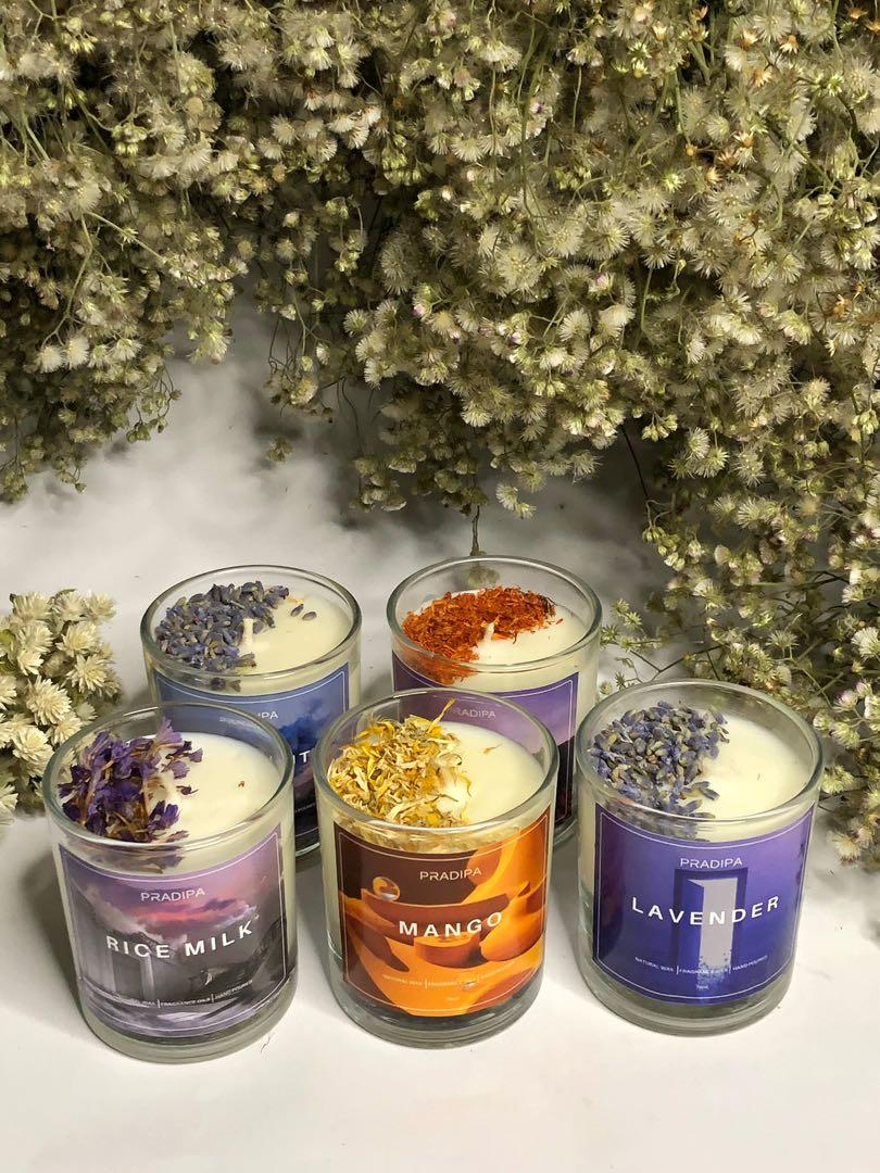 SOY SCENTED CANDLE | LILIN AROMATERAPI