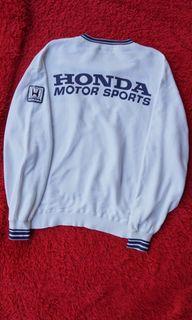 Sweatshirt honda motor sports vintage