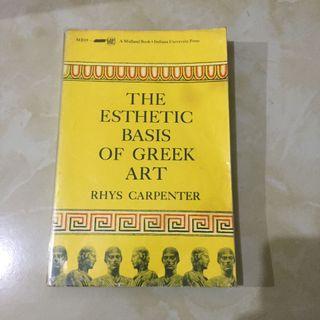 The  Esthetic of Greek Art - Rhys Carpenter