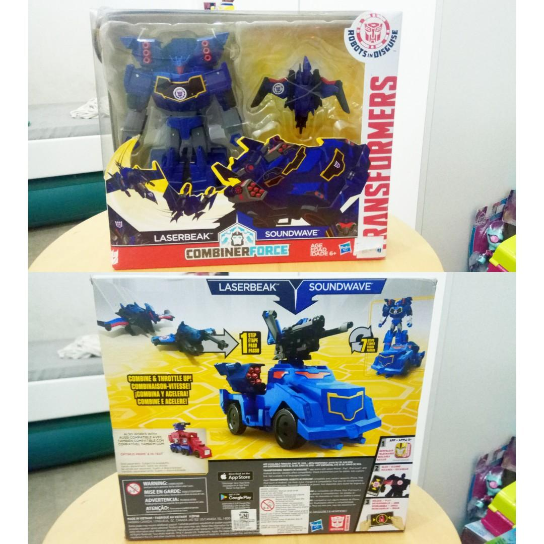 Transformers Robots in Disguise - Laserbreak x Soundwave