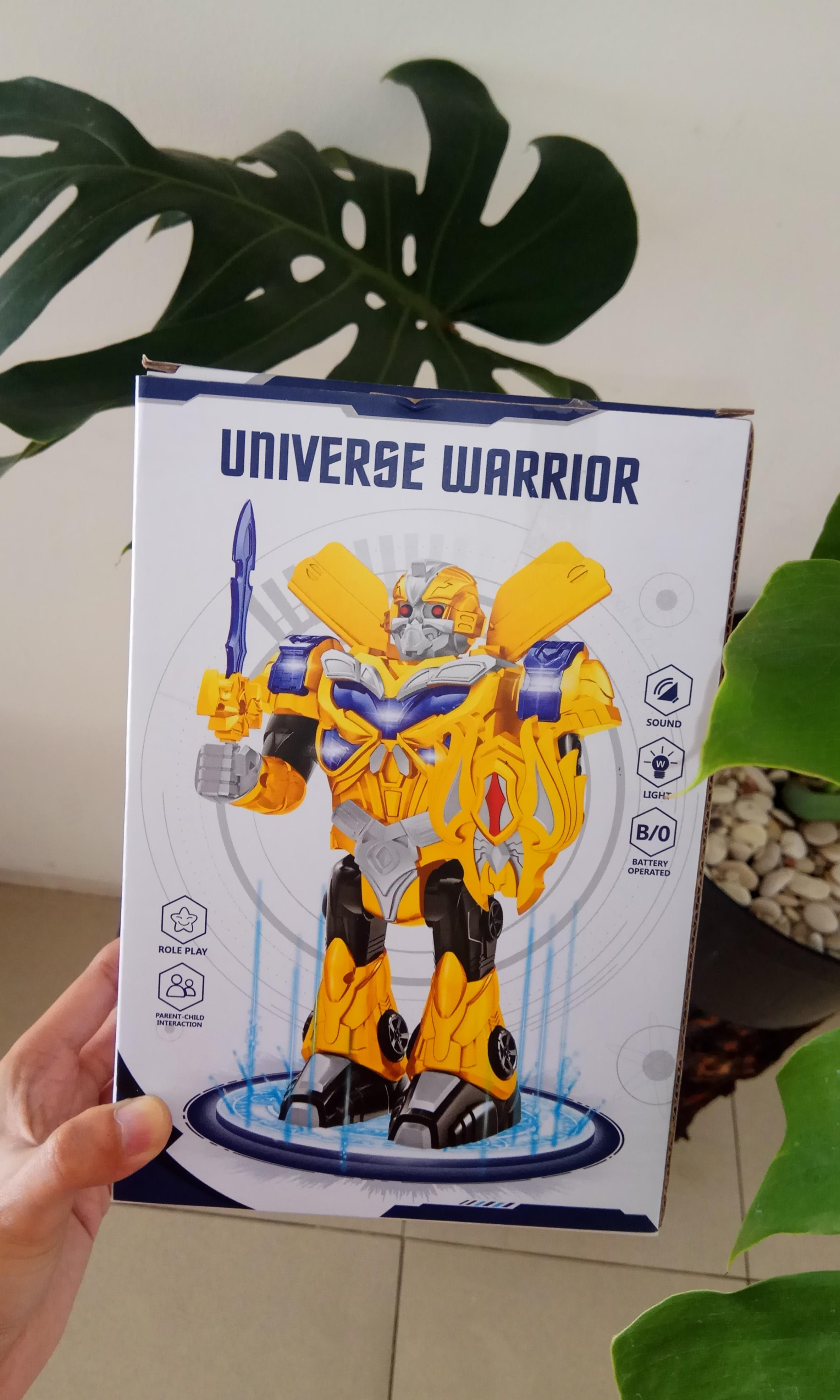 Universe Warrior Robot War
