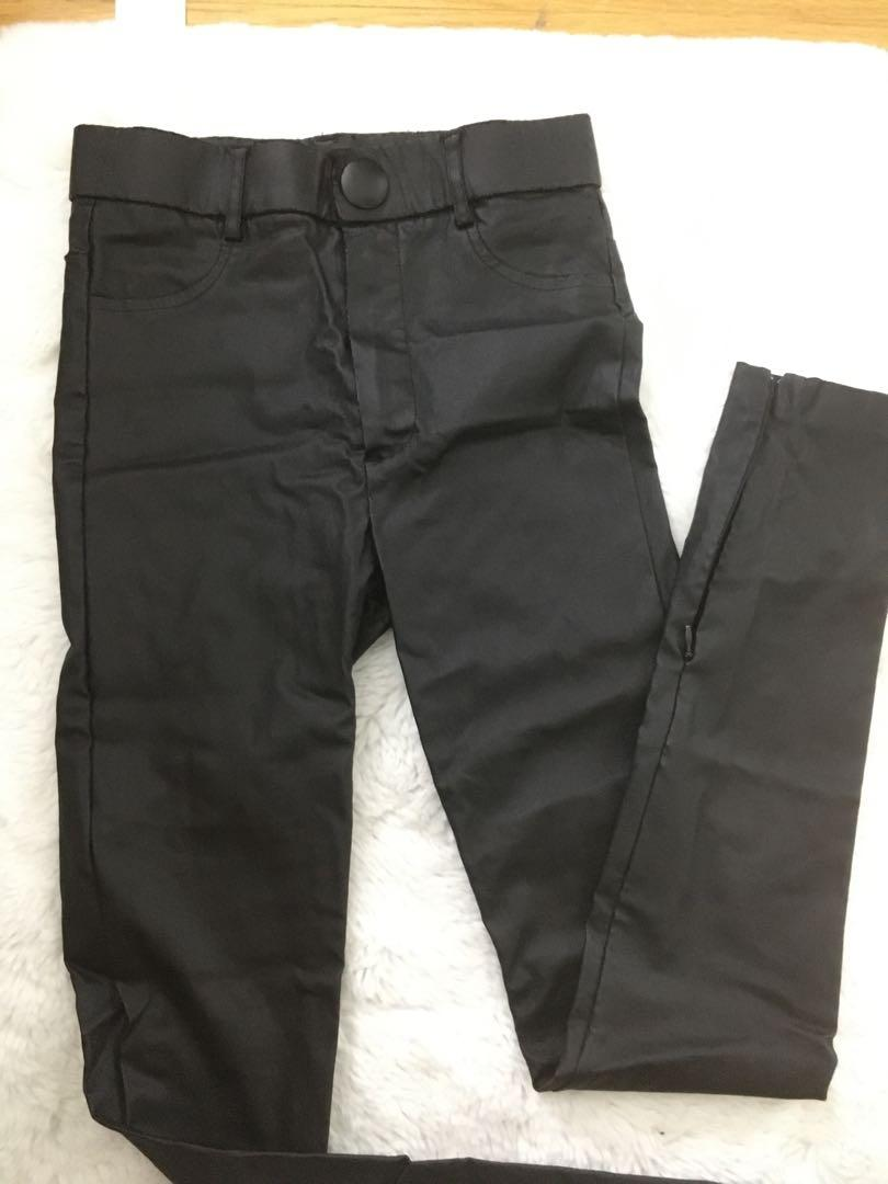 ZARA faux leather pants XS