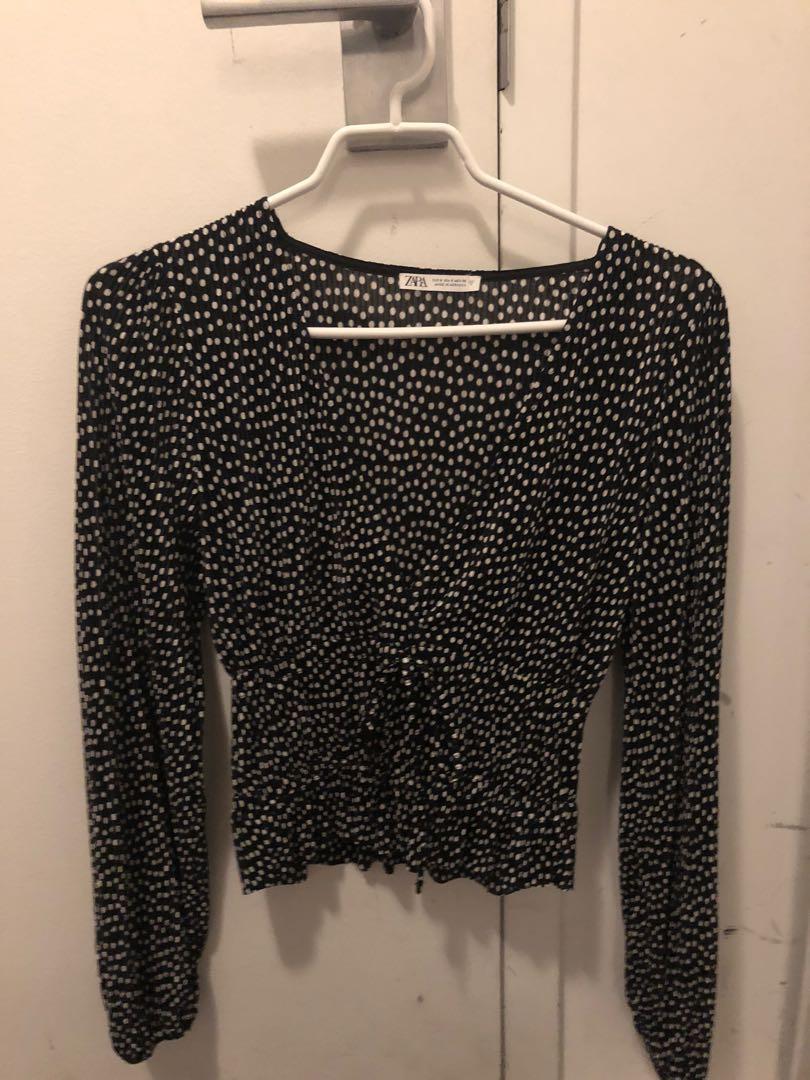 Zara top - small