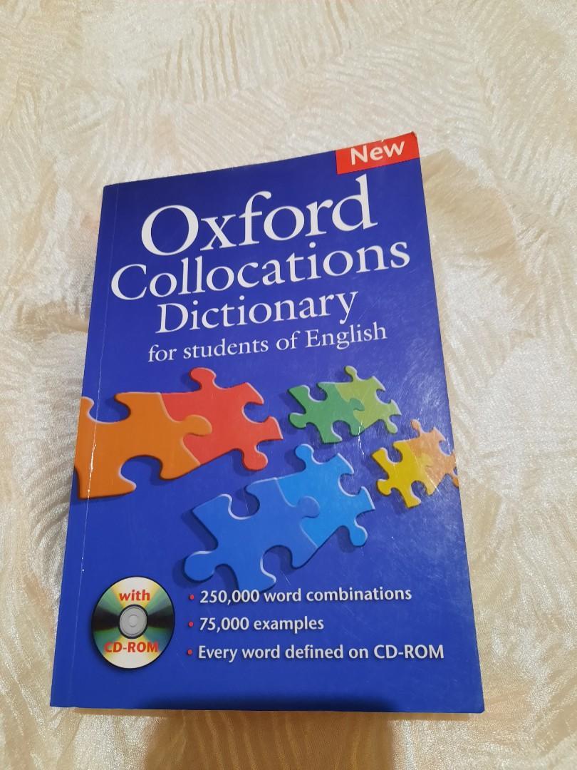 雙 11 ! $1360 字典 搭配語辭典 Dictionary; Oxford Collocation; 英文字典 原文書 大本 #二手價