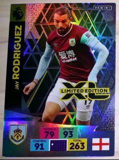 2020-21 2020/21 Panini Adrenalyn XL Premier League Jay Rodriguez Limited Edition