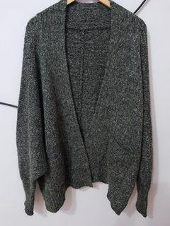 韓版寬鬆袖毛衣外套