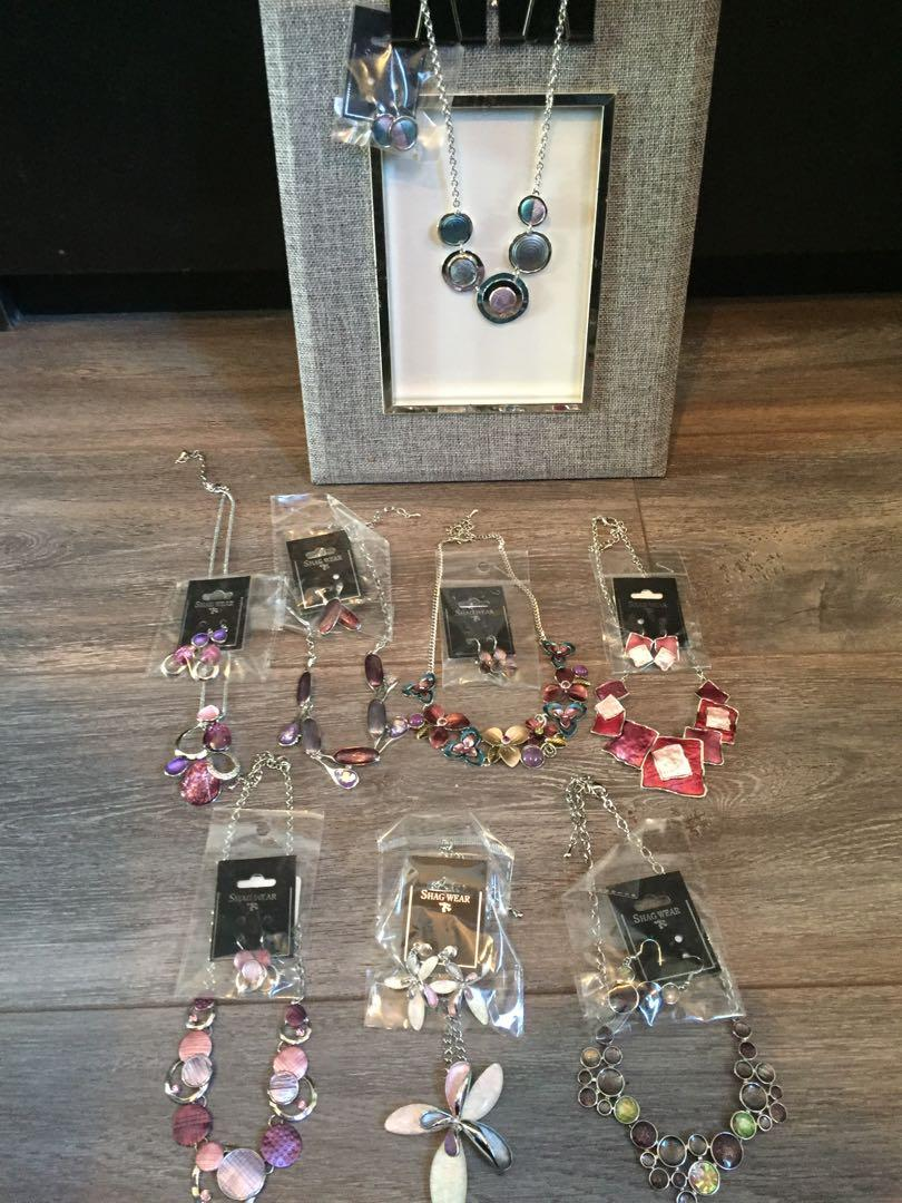 Assorted costume jewellery $5 sets