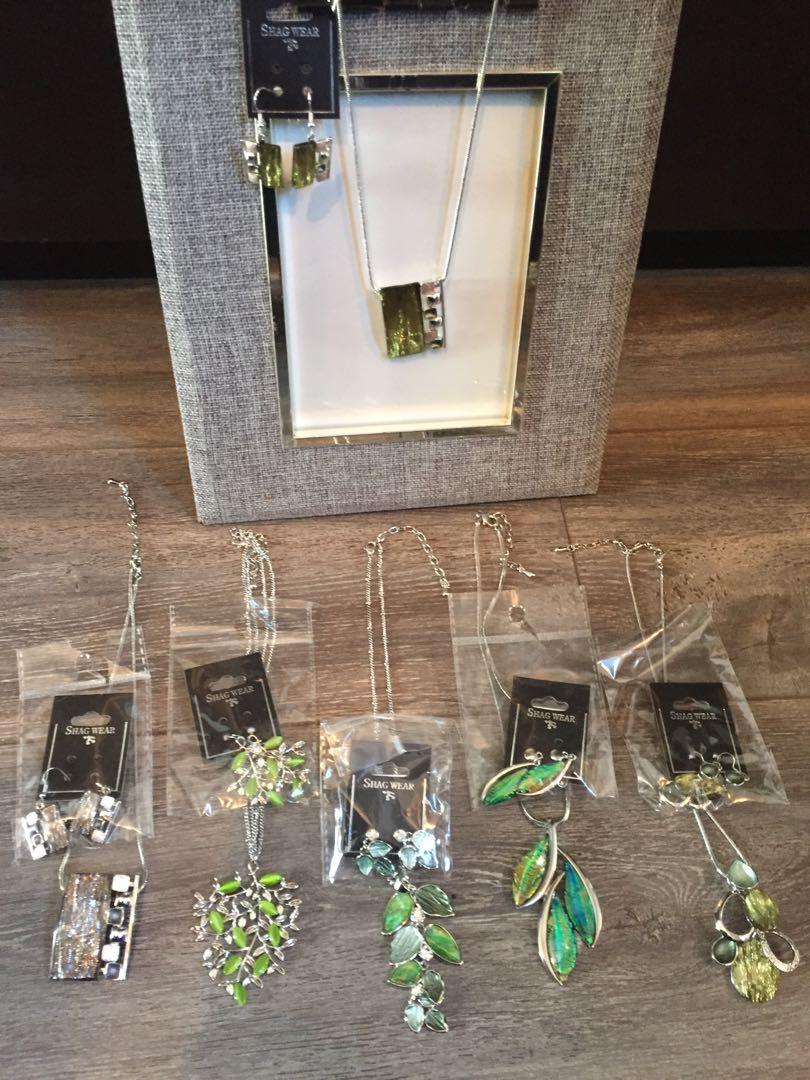 Assorted costume jewellery $5 sets