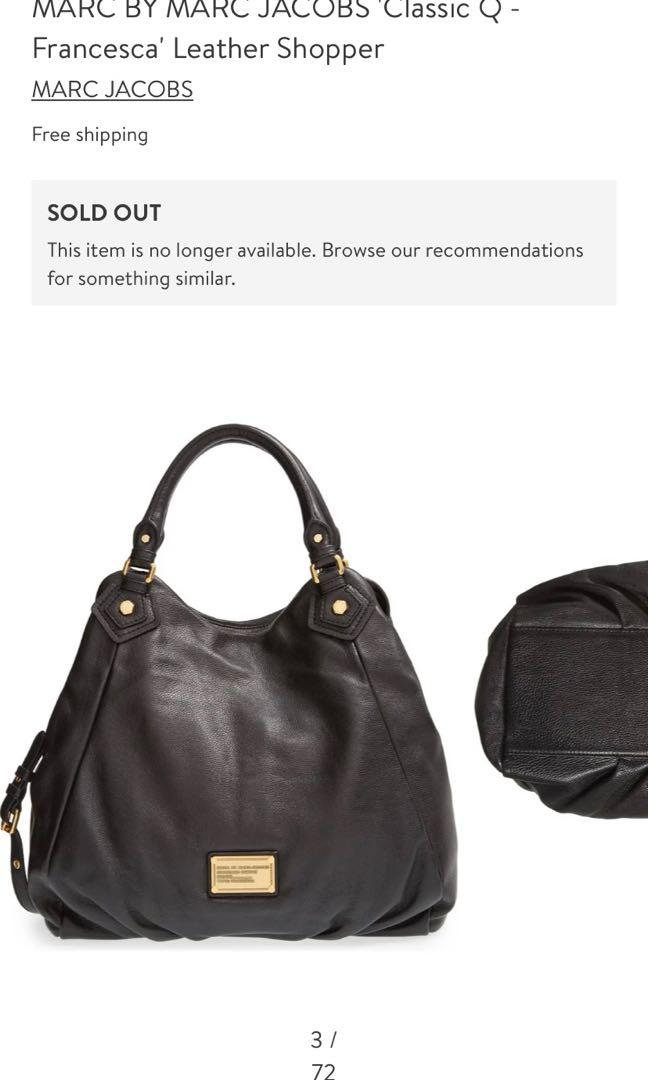 AUTHENTIC Marc by Marc Jacobs Classic Q Francesca & Matching Wallet - $200 together