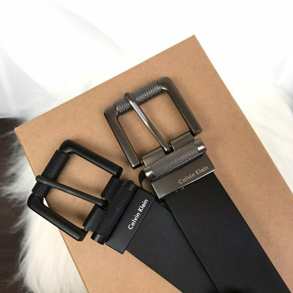 Belt Calvin kln tulisan putih