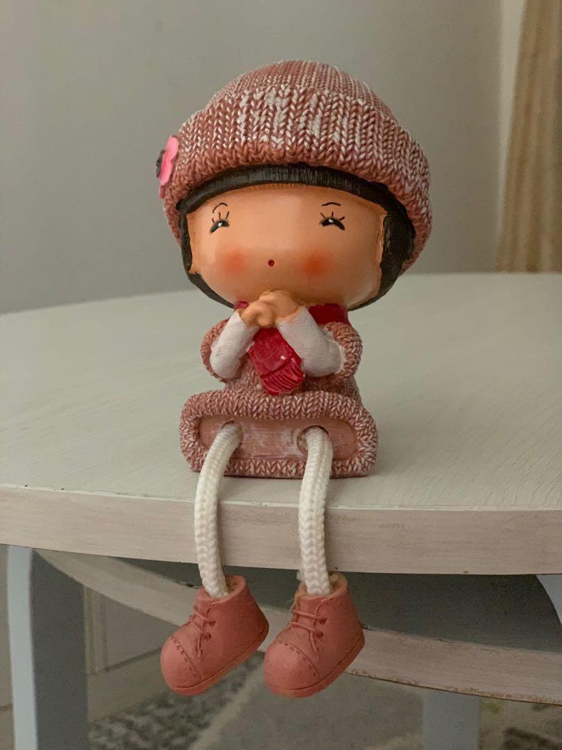 Boneka aksesoris pajangan rumah