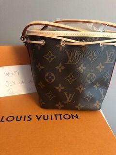Brand new Louis Vuitton Nano Noe