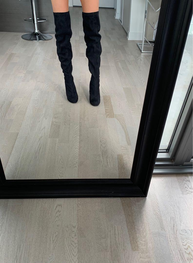 BRAND NEW Never Worn Thigh Boots - Size 5.5