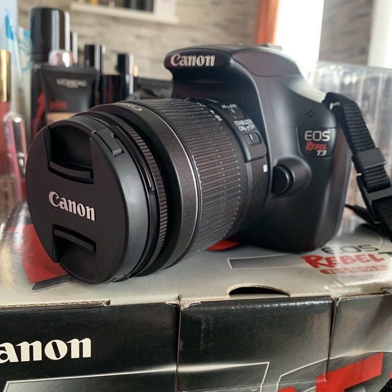 Canon eos rabel T3 fungsi normal semua dan masih bagus