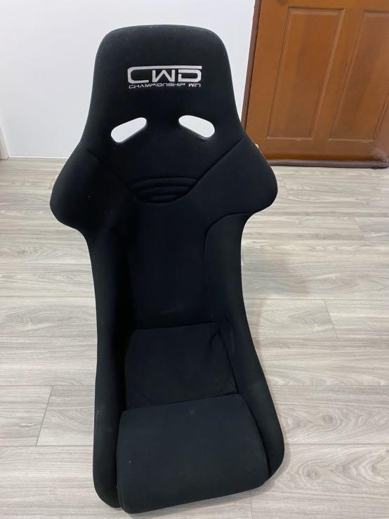 CWD 賽車椅 汽車椅 椅子 沙發椅  (無破損)