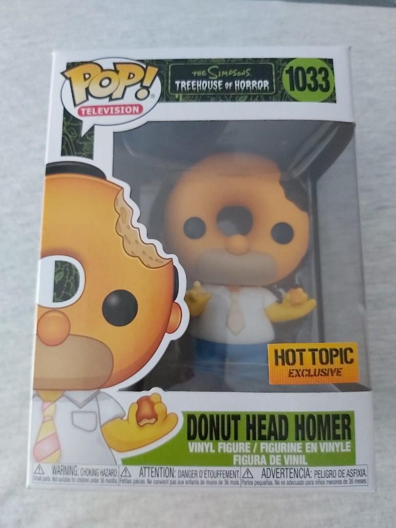 Donut Homer Vinyl Figure FunkoPop