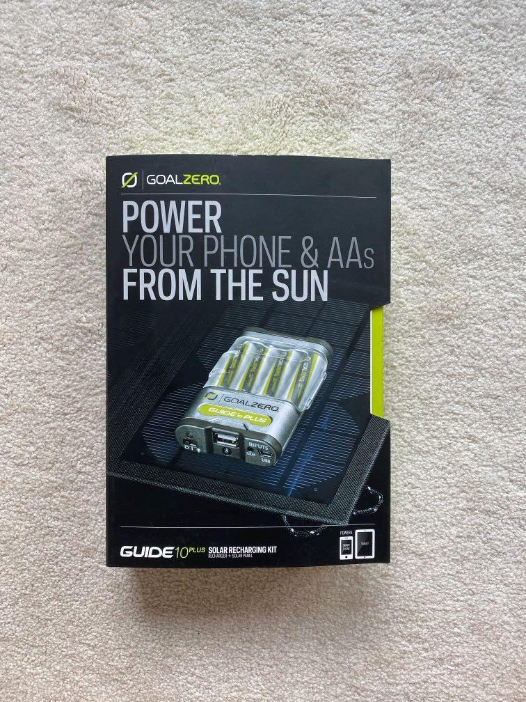 Goal Zero - Guide 10plus Solar Recharging Kit
