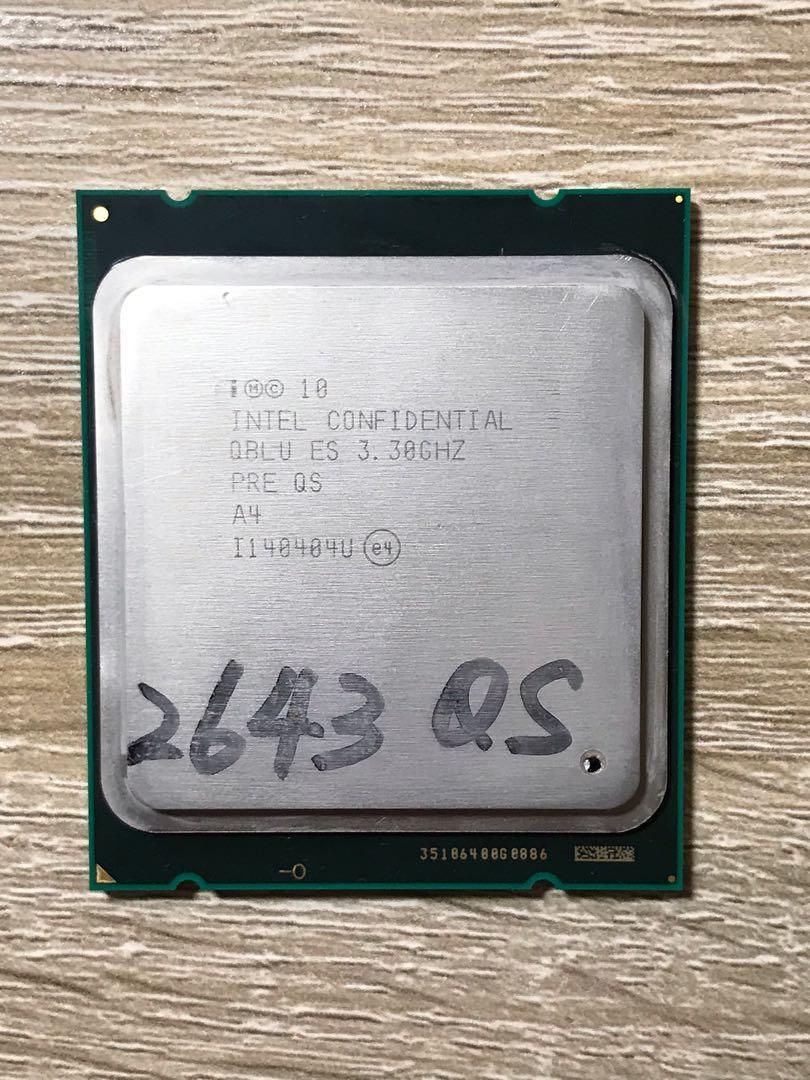 Intel Xeon E-2643 3.3G 10M 4C8T