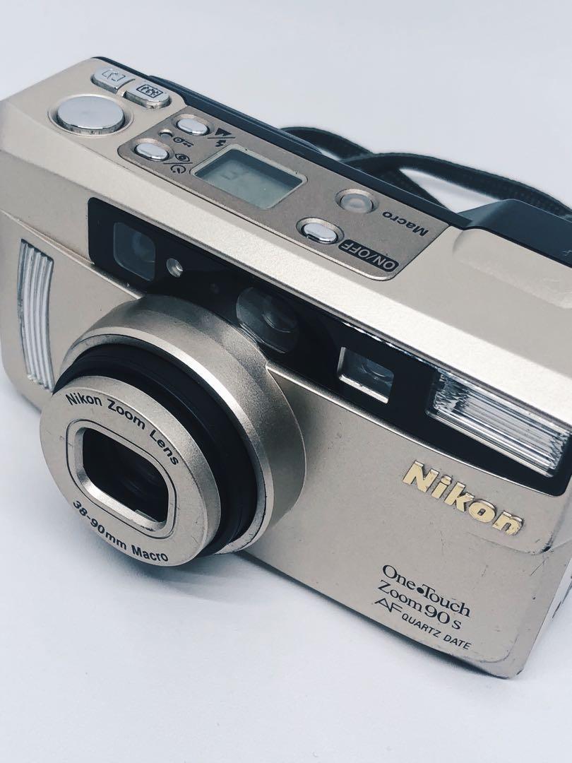 Kamera analog nikon one touch zoom 90s