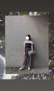 Kim soo Rattan Bag   clutch, with zipper