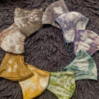 masker tie dye waterproof custom