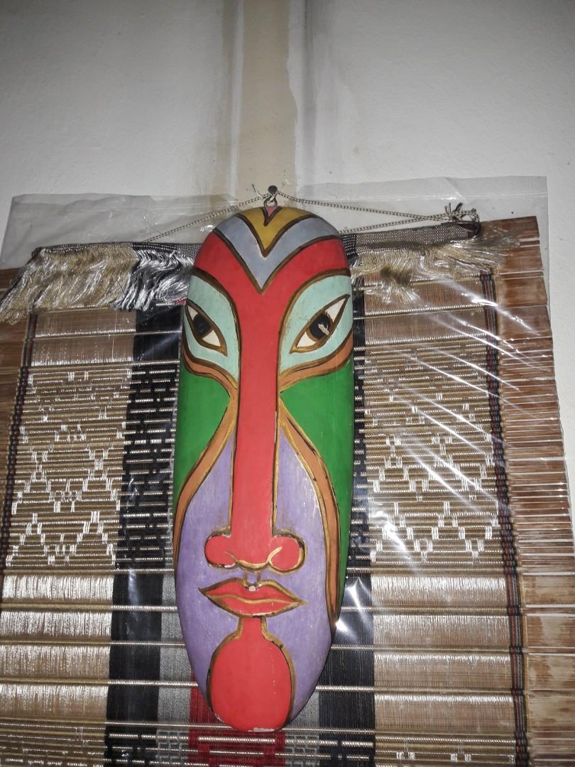 Pajangan topeng lombok