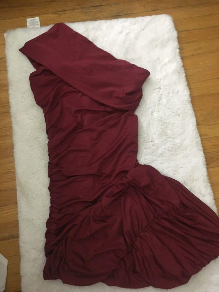 Ruched long dress XS/S