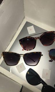 Sunglasses bundle or separately sold