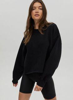 Tna Cozyaf Boyfriend Cropped Sweatshirt