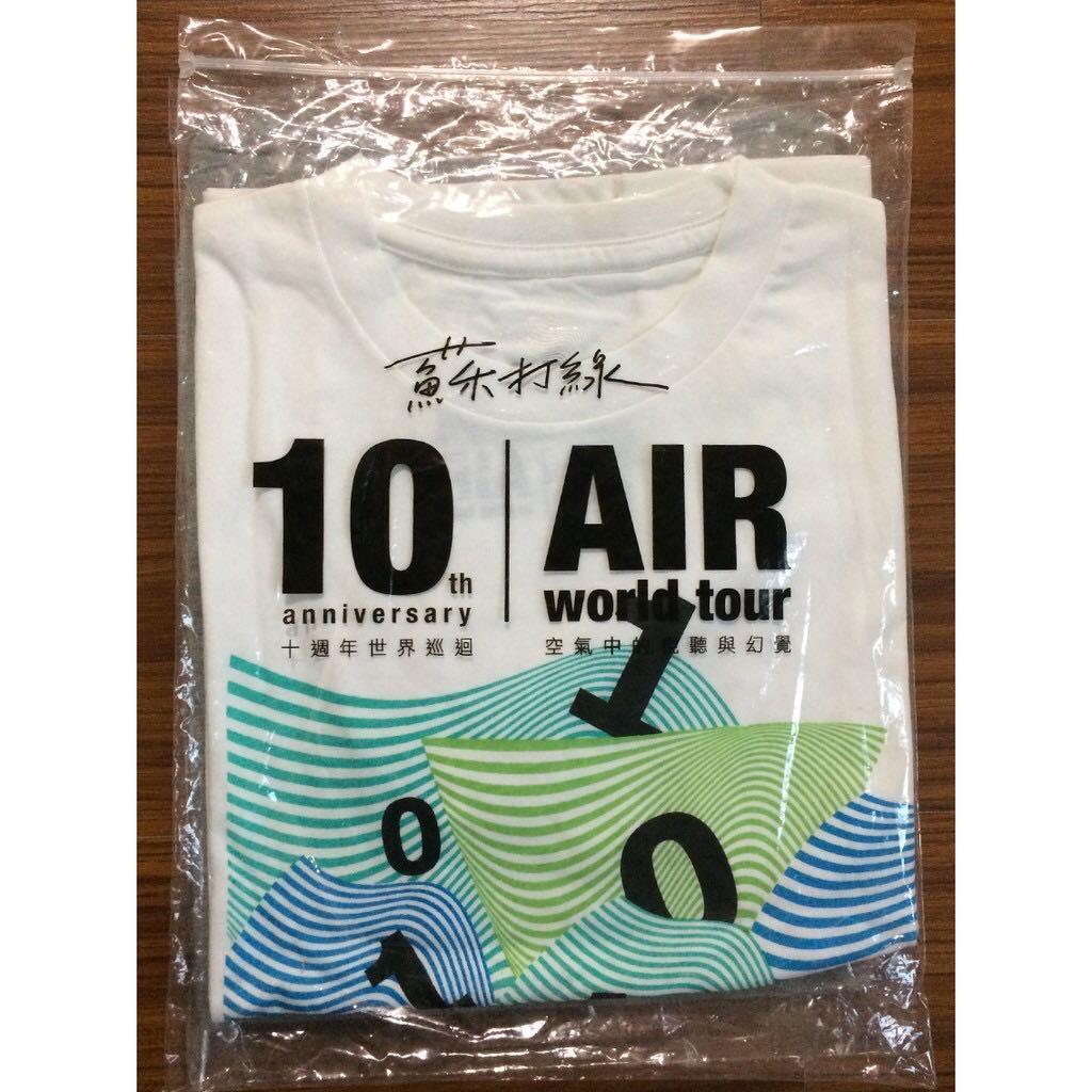 蘇打綠10週年巡演>演唱會周邊>限量T-shirt女版XS號