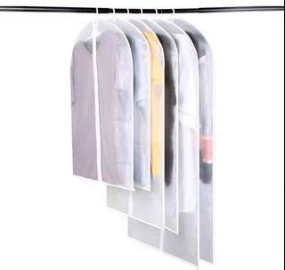 全新衣服防塵罩(拉鍊) 120x60cm  (20蚊三個)