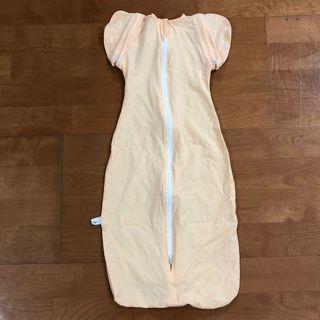 透氣棉 薄款 開袖包巾 M號