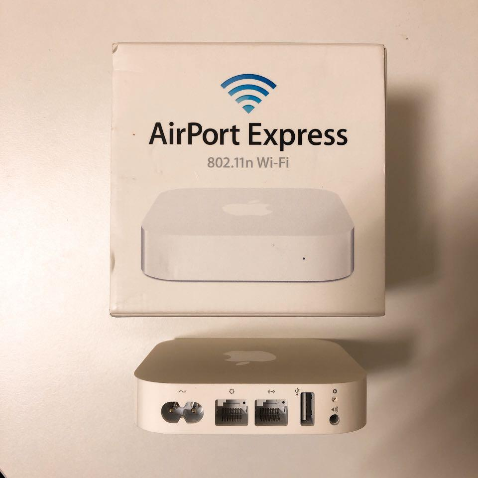 Apple Airport Express無線網路分享器