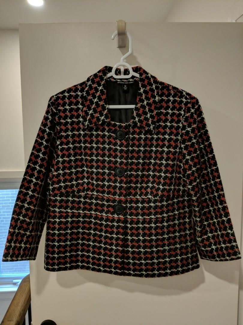 Briggs NY Cropped Business Jacket (10)