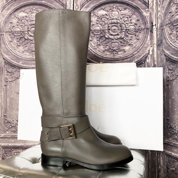 Chloe knee High Riding Boots
