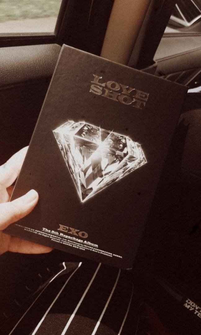EXO LOVE SHOT ALBUM ONLY