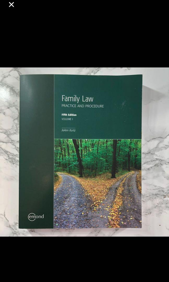 Family Law Practice and Procedure Textbook
