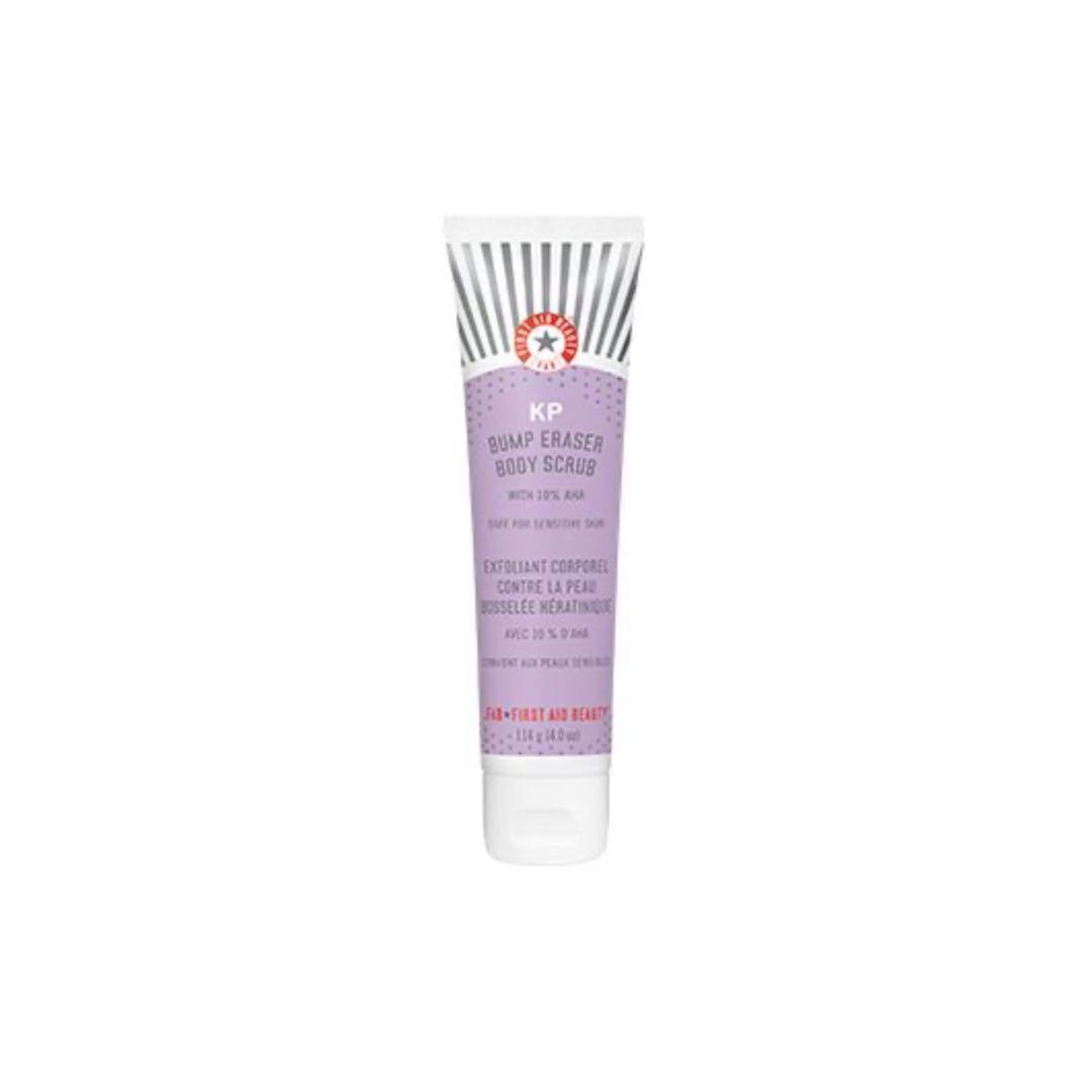 First Aid Beauty - KP Bump Eraser Body Scrub with 10% AHA - 4.0 oz