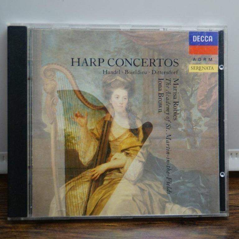 古典音樂/HARP 豎琴協奏曲/DECCA出版/二手CD  #二手價